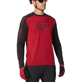 Fox Ranger Dri-Release Foxhead LS Jersey Men, chili